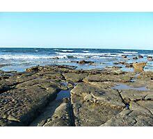 Rock Pools Caloundra Photographic Print