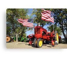 Rural American Pride Canvas Print