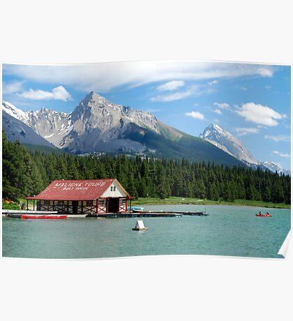 Lake Tours - Maligne Lake Poster