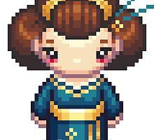 The Blue Geisha by iamnotadoll