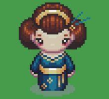 The Blue Geisha Baby Tee