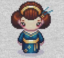 The Blue Geisha One Piece - Long Sleeve