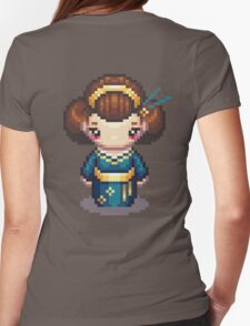 The Blue Geisha Womens Fitted T-Shirt