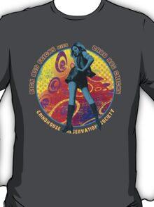 KICK ASS FLICKS with BADD ASS CHICKS 3 T-Shirt