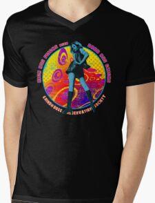 KICK ASS FLICKS with BADD ASS CHICKS 3 Mens V-Neck T-Shirt