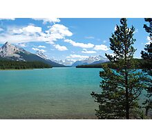 Maligne Lake - Jasper National Park Photographic Print