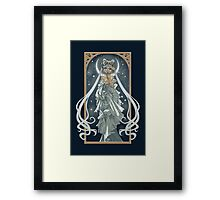 The Moon and Stars Framed Print