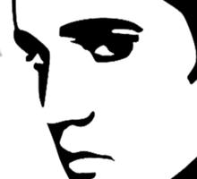 Elvis Silhouette, Design Sticker