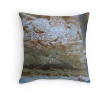 Almond Slice Throw Pillow