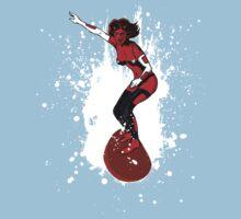 Devil Surfer by Ross Robinson