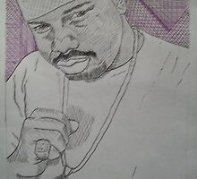R.I.P.dj screw<Robert Earl Davis jr.> by WILLIAM DAVID GARRETT