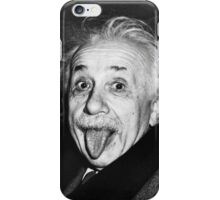 Albert Einstein Tongue iPhone Case/Skin