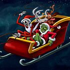 Christmas Hijackers by CherryGarcia