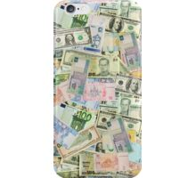 International currencies iPhone Case/Skin