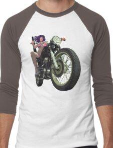 Moto Mama Solo Men's Baseball ¾ T-Shirt