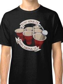 Beer Pong Champion Classic T-Shirt