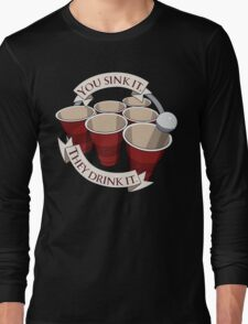 Beer Pong Champion Long Sleeve T-Shirt