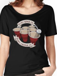 Beer Pong Champion Women's Relaxed Fit T-Shirt