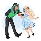 Dapper Alice and Thackery by CherryGarcia