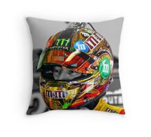 Kyle Busch Throw Pillow