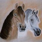 Two Horses by WienArtist