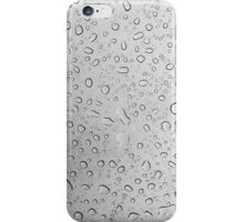 Raindrops on a Rainy Day iPhone Case/Skin