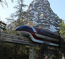Take a ride on the Monorail by daydreaminabout