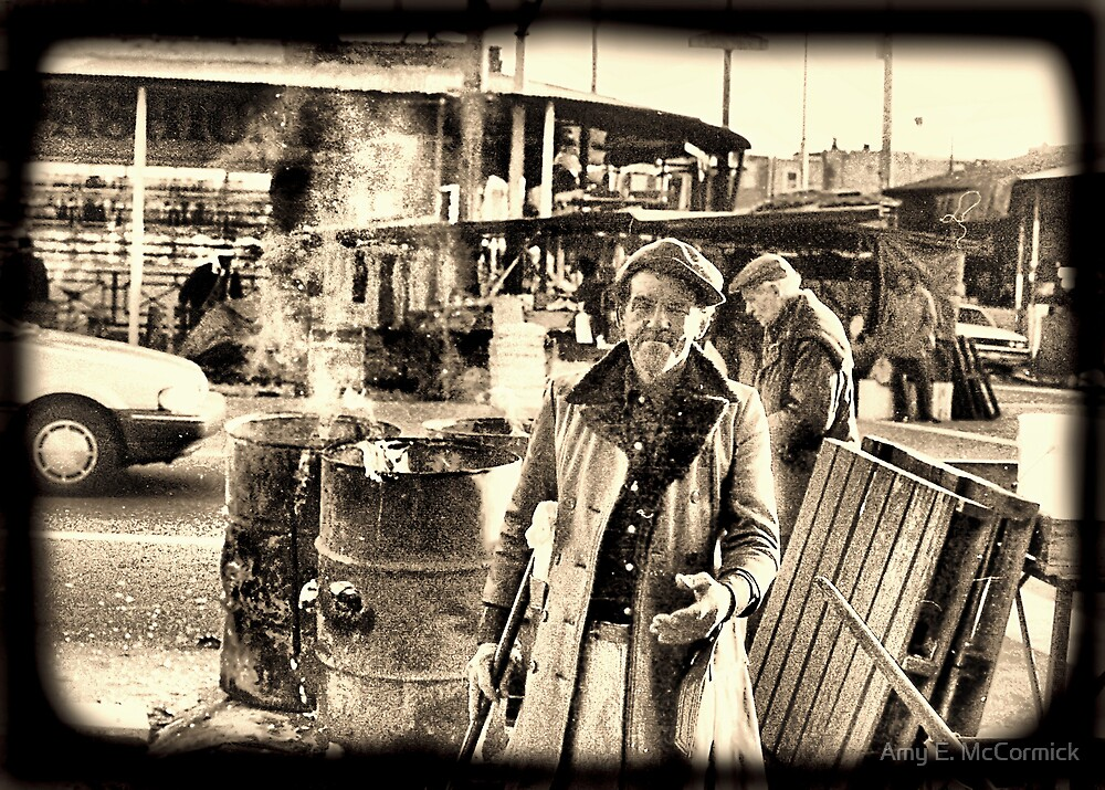 Philadelphia Italian Market by Amy E. McCormick