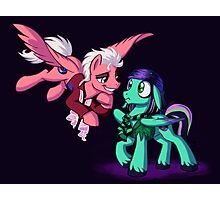Mad T Ponies - Mally and Thackery Photographic Print