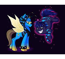 Mad T Ponies - Chesshur and Absolem Photographic Print