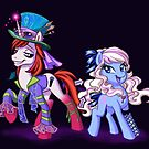 Mad T Ponies - Alice and Tarrant by CherryGarcia