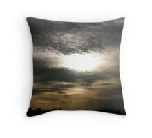 A Very Strange Day. Throw Pillow