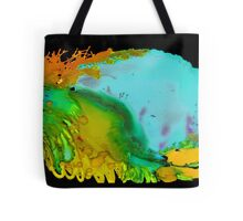 The Green Wave Tote Bag