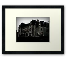 Salve Regina Administration Bldg from the Cliff Walk Framed Print