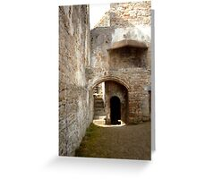 Easby Abbey interior Greeting Card