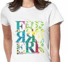 DERTEE002 - A DiscError Recordings Promotional T-Shirt Womens Fitted T-Shirt