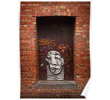 Slightly Glum Doorway Poster