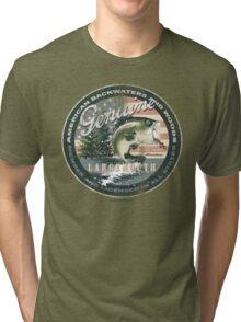 GENUINE LARGEMOUTH Tri-blend T-Shirt