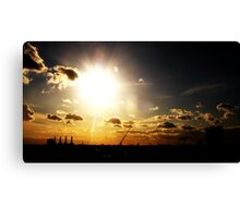 i see the light..... Canvas Print