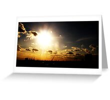 i see the light..... Greeting Card