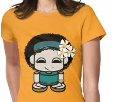 Angel Geo'bot Womens Fitted T-Shirt