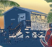 crab shack Sticker
