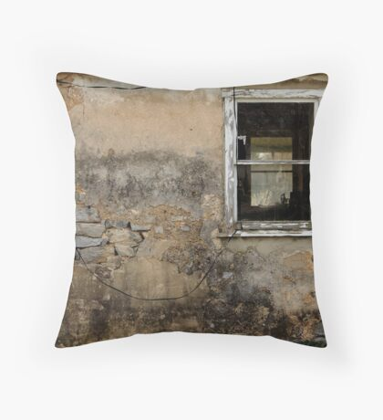 Old House wall Throw Pillow