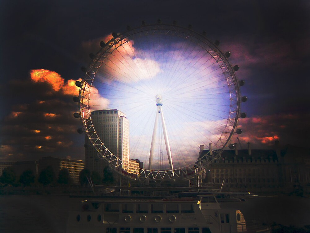 London Eye by Addnan