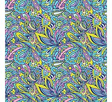 Indian Candy Color Pattern Photographic Print