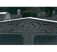 tombstone Photographic Print