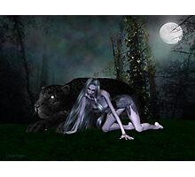 Night Stalker .. the beast Photographic Print