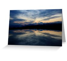 Reflections, Drakensberg, Free State Greeting Card