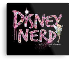 Disney Nerd Metal Print