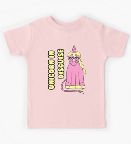 Unicorn In Disguise Kids Tee